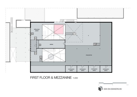 First Floor & Mezzanine Plan