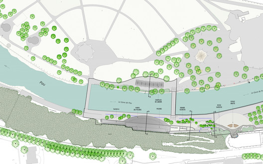Site plan - zonification