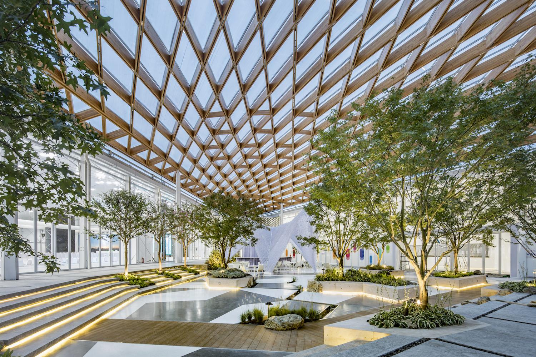 Venue Of Shanghai Westbund World Artificial Intelligence