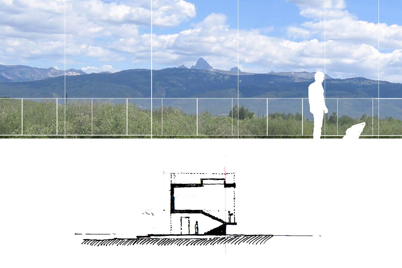 teton residence ro rockett design view diagram [ 1500 x 1000 Pixel ]