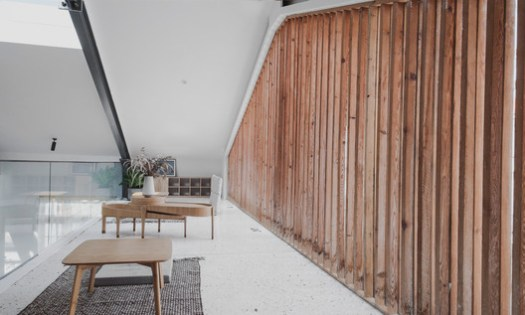 Mezzanine. Image Courtesy of Atelier FANZHENG