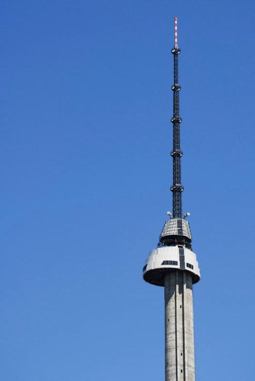 Çamlıca TV and Radio Tower. Image © Ege Acar