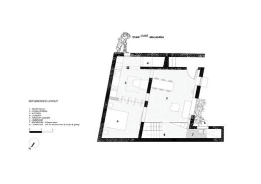 Refurbished Layout Plan