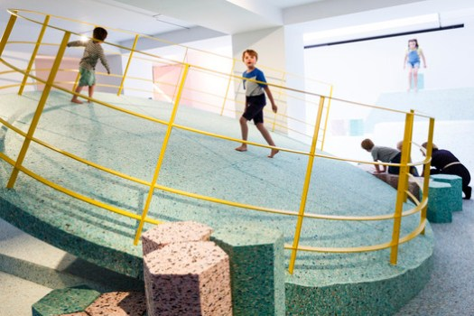 Getty Images for RIBA. ImageAssemble's Brutalist Playground