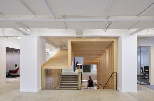 Pinterest NY (New York, New York) / IwamotoScott Architecture and Spector Group (Architect of Record)