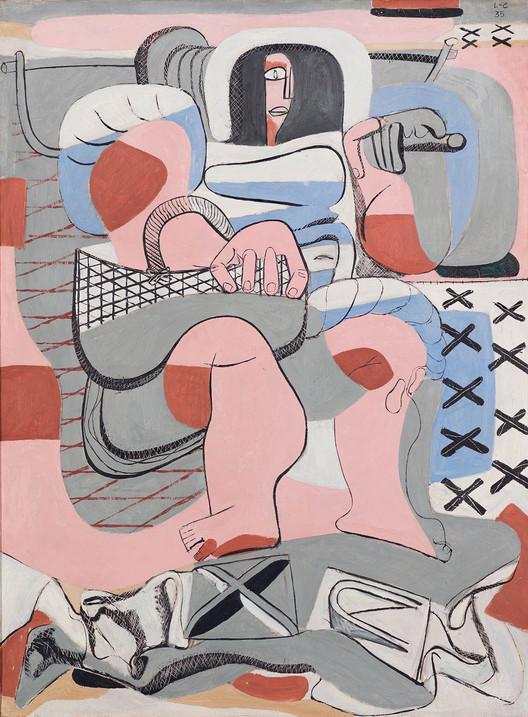 La pêcheuse d'huitres, 1935. Image © The Foundation Le Corbusier / FLC ADGAP