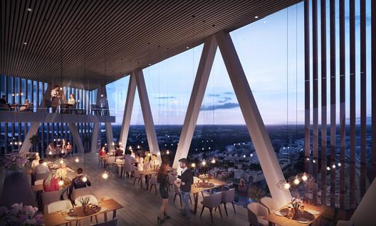 Trigoni, Helsinki High-Rise. Image Courtesy of Lahdelma & Mahlamäki Architects