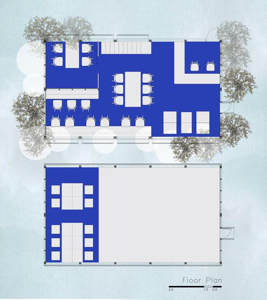 Plan / Reading room