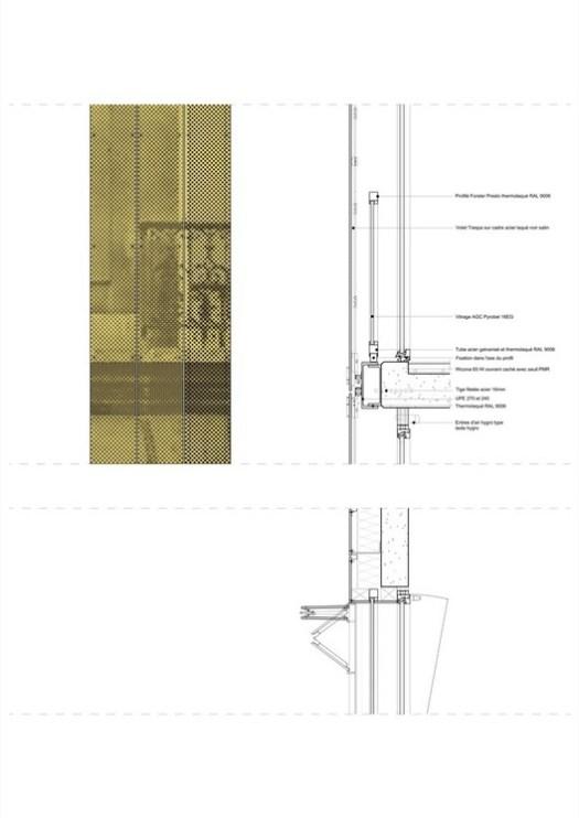 Facade detail Haussmann Stories