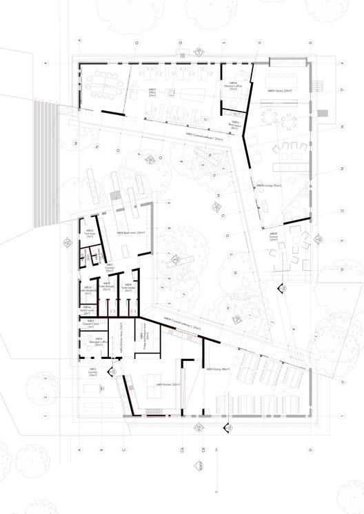Floor Plan - Main Building