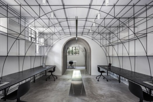 Main office area. Image © Ripei Qiu