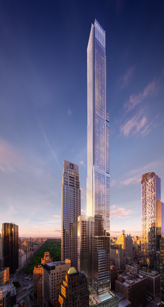 Central Park Tower Image Courtesy Of Asgg Wordsearch