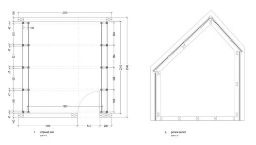 Plan + Section 01