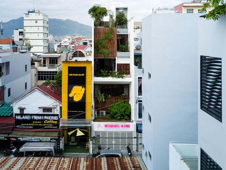 Swhouse Office And House In Nha Trang Chon A Archdaily