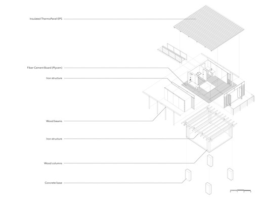 Cabin_192_Diagram Cabin 192 / JiA Architecture