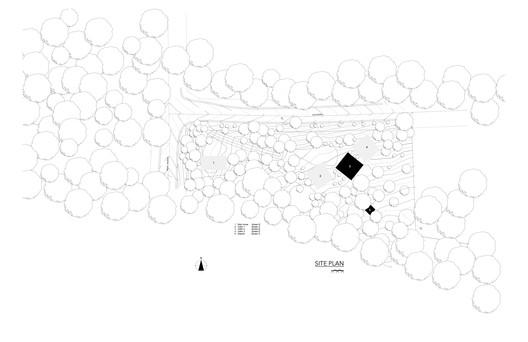 Cabin_192_Site_plan Cabin 192 / JiA Architecture