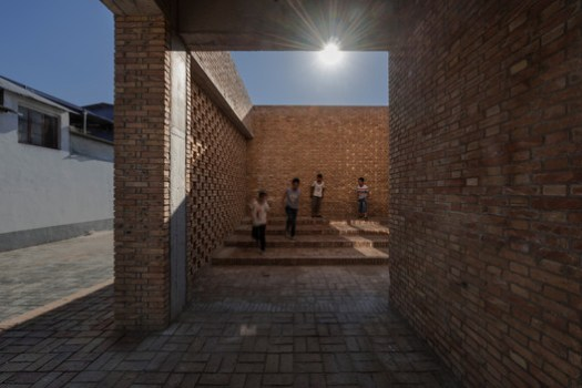 Steps, children and light. Image © TrimontImage - Dong Wang