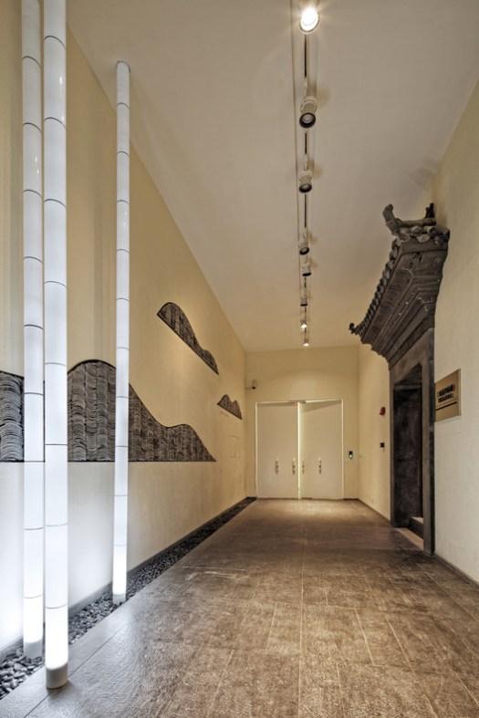 Entrance lobby. Image © Wenjie Hu