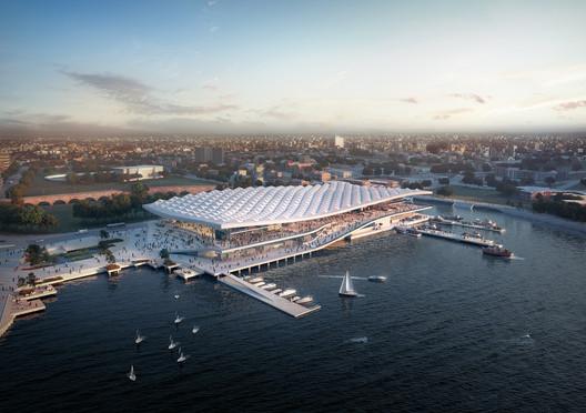 Sydney Fish Market. Image Courtesy of 3XN