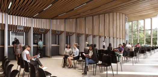 Tegucigalpa New Embassy Compound. Image Courtesy of SHoP Architects