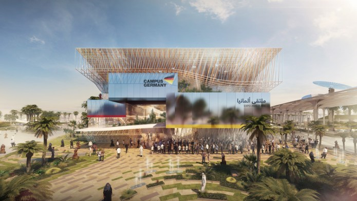 LAVA Selected to Design German Pavilion for Expo 2020 Dubai, German Pavilion. Image Courtesy of facts and fiction | adunic | LAVA