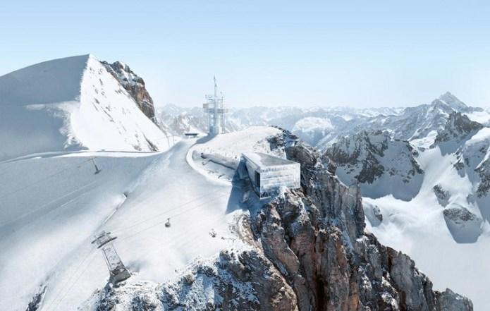 "Herzog & de Meuron's Mountain Outpost Brings ""Architectural Ambition"" to the Swiss Alps, Courtesy of Herzog & de Meuron"