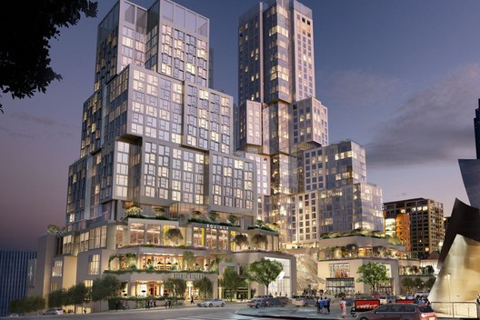 The Grand. Image Courtesy of Gehry Partners