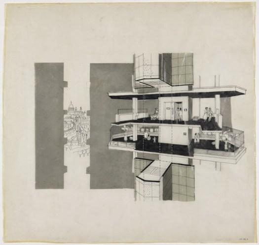 © Lasdun Archive RIBA Collections