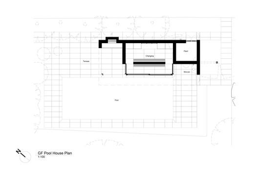Pool House Plan