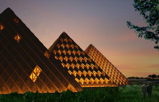 Kentucky Owl Park. Image © Courtesy of Shigeru Ban Architects