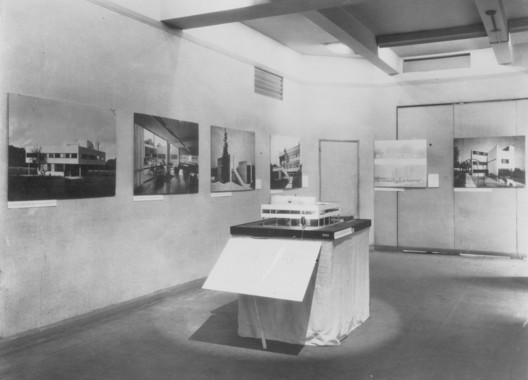 Model of Le Corbusier's Villa Savoye from Modern Architecture: International Exhibition [MoMA Exh. #15, February 9-March 23, 1932] Photo: Modern Architecture, International Exhibition. 1932. The Museum of Modern Art, New York. Photographic Archive