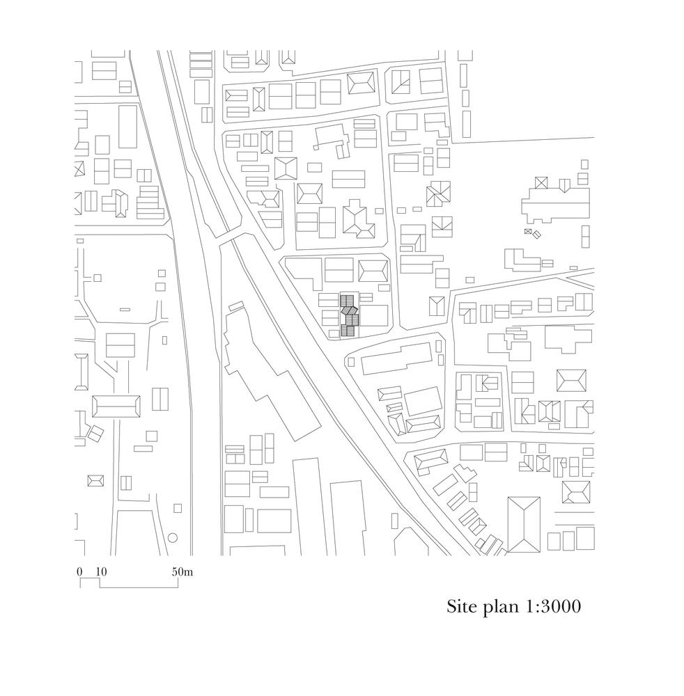 gable roof house alphaville architects [ 982 x 1000 Pixel ]