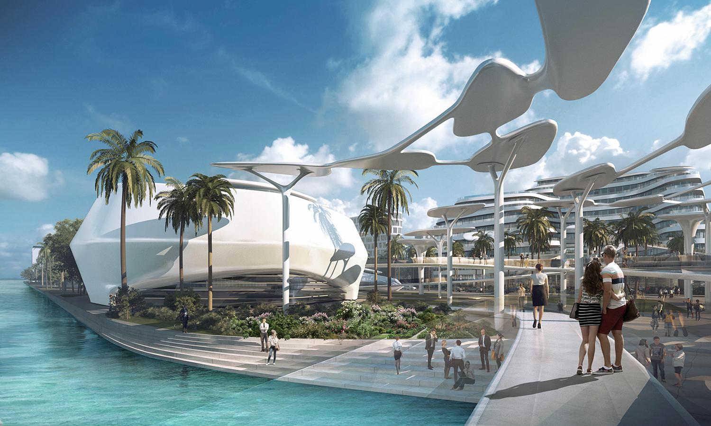 Gallery Of Caa Architects Reveals Futuristic Eco City