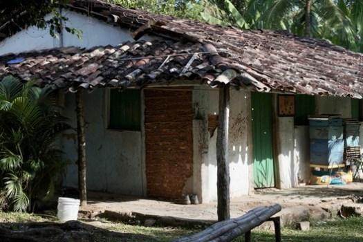 Quilombo house in Kaonge, Cachoeira, Bahia. Image © Pedro Levorin