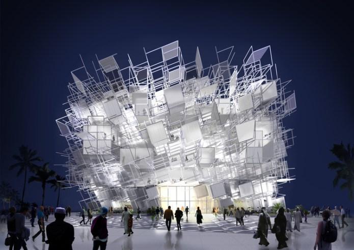 Yong Ju Lee and Atelier KJ Create Design for Korean Pavilion at Expo 2020 Dubai, Elusive Boundary Pavilion. Image Courtesy of Yong Ju Lee Architecture + Atelier KJ