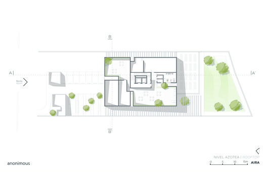 Rooftop Level Plan