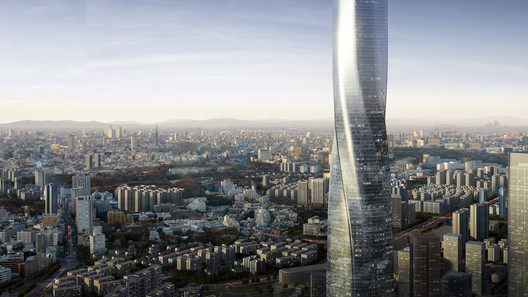 Shimao Fuzhou Tower. Image Courtesy of EID Architecture