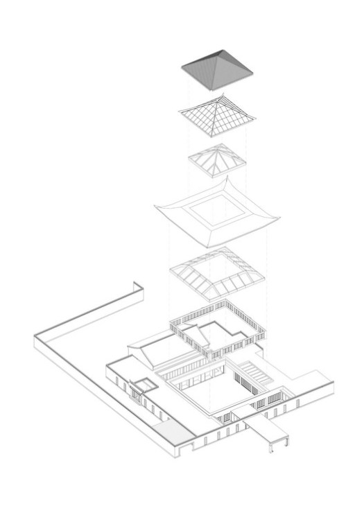Structure Diagram of Lobby and Roof