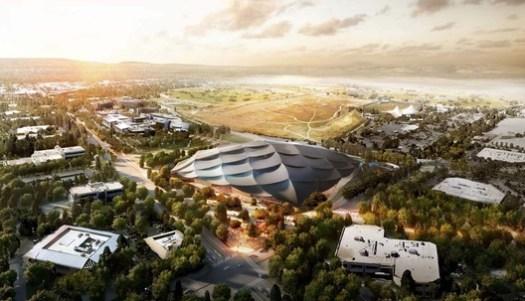 Google Mountain View Campus. Image Courtesy of Bjarke Ingels Group & Heatherwick Studio