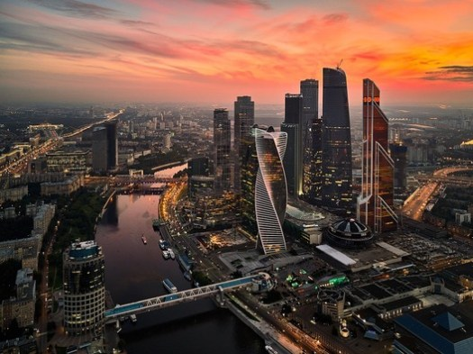 Moscow. Image via Creative Commons
