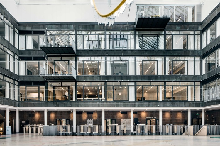 Chalmers Department For Architecture And Civil Engineering White Arkitekter Archdaily