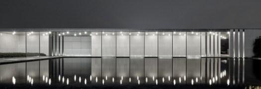 Corridor reflection and mirror waters-cape. Image © Jianghe Zeng