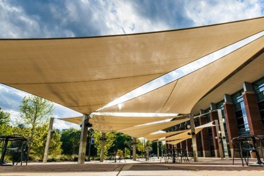 Superior Shade at University of West Georgia. Image Courtesy of Superior Recreational Products