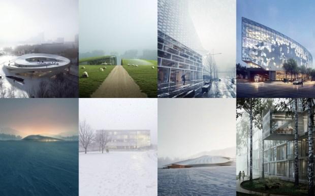 Las representaciones atmosféricas ofrecen perspectivas sorprendentes, pero a menudo similares en las propuestas de proyectos.