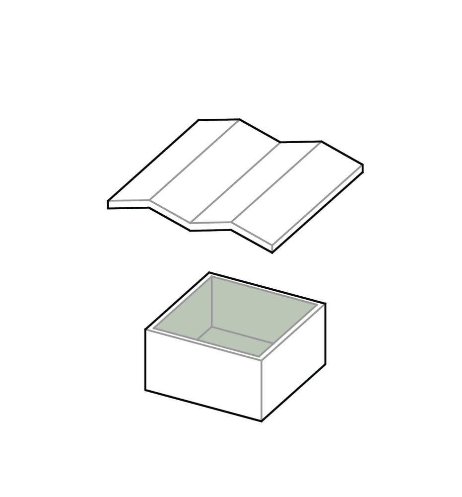 small resolution of butterfly roof house thescape roof diagram 1