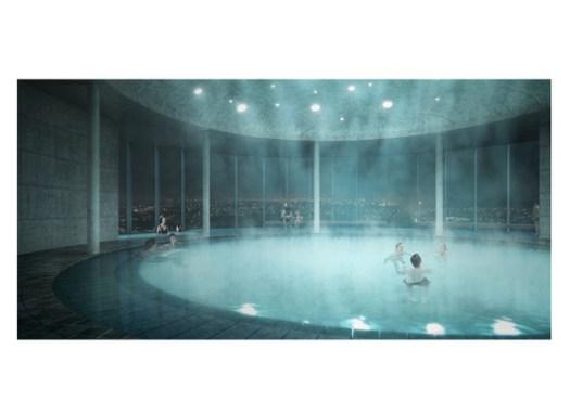 Public spa. Image Courtesy of SquareOne