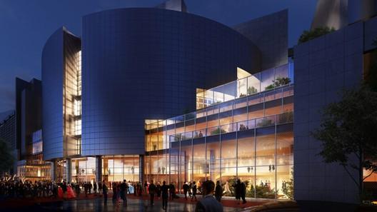 Opéra Bastille Expansion. Image Courtesy of Henning Larsen