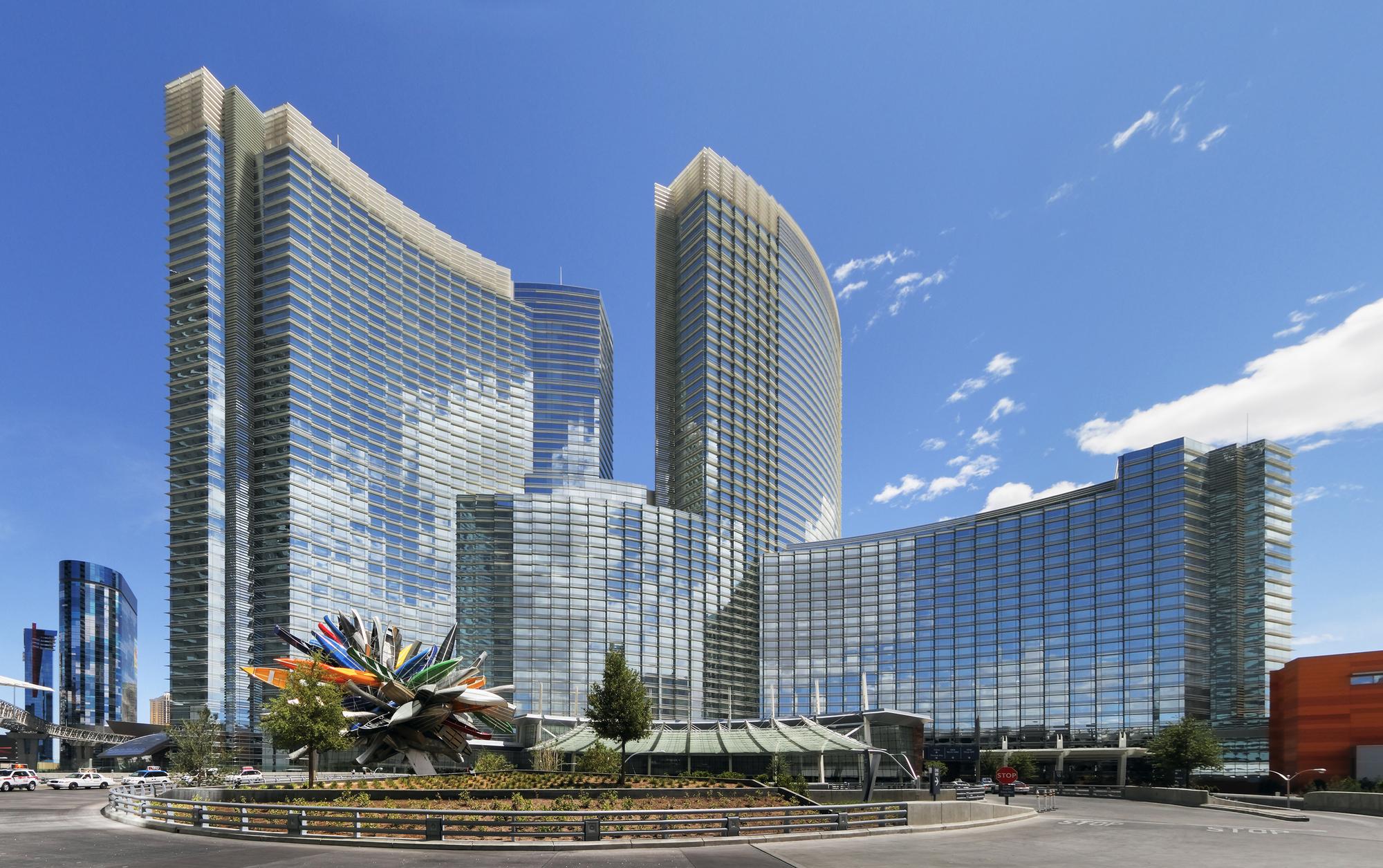 Aria Resort And Casino Pelli Clarke Architects