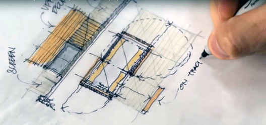 "Screenshot do vídeo ""Sketch like an Architect (Techniques + Tips from a Real Project)"", de 30X40 Design Workshop"