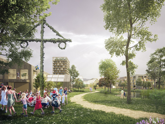 Humlestaden. Image Courtesy of Henning Larsen